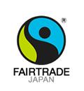 サステナブルな商品の認証ラベル「国際フェアトレード認証」ロゴ